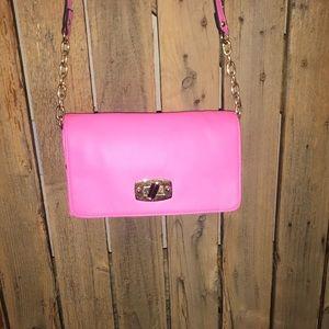 Medina pink crossbody